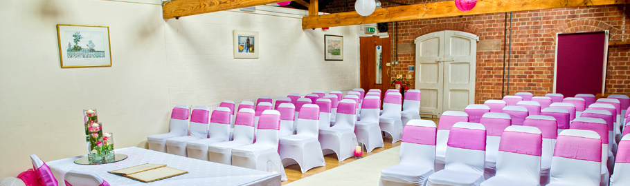 Our Academia Suite is licensed  for Civil Ceremonies