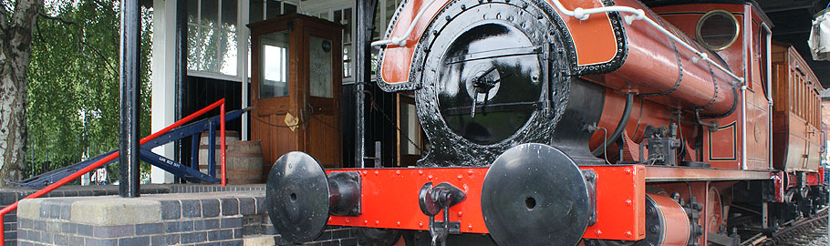 The volunteers have recently completed restoration of our steam engine