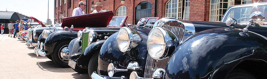 Classic car rallies
