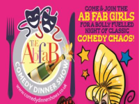 Ab Fab Comedy Dining 8th February