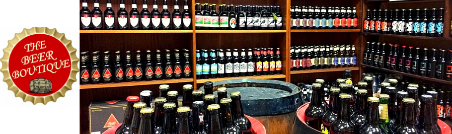 The Beer Boutique stocks beer and ciders from around fifty countries worldwide