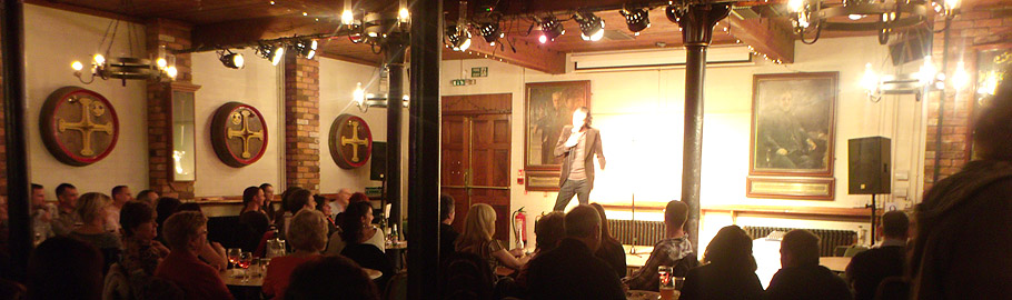 The Firkin Comedy club normally meets on the last Friday of each month